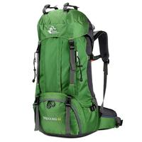 Outdoor Climbing Hiking Multi pockets Zip Backpack Bike Hiking, Camping, Sports, etc Casual Patchwork 2 Bag