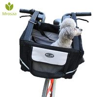Best Pet Puppy Carrier Bicycle Basket Storage Puppy Ride Bike Canopy Dog Cat Safety Pet carriers Carrier Outdoor Bike Baskets