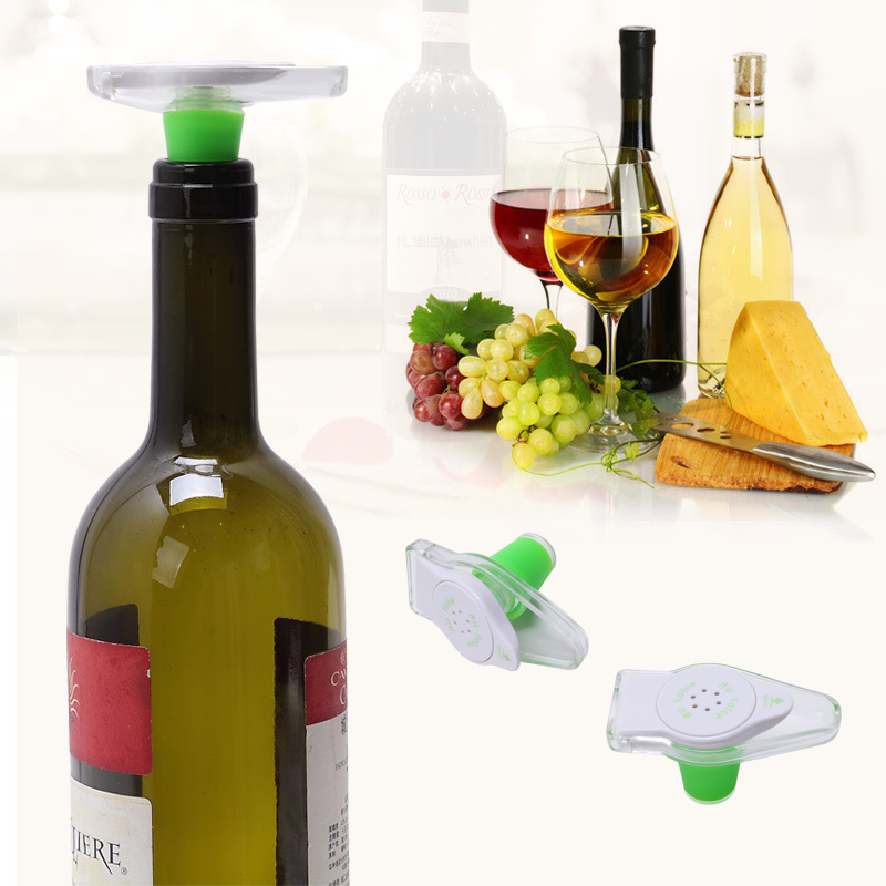 Vacuum sealer Red Wine Champagne Bottle Preserver Air Pump Stopper Sealed Saver vacuum stopper