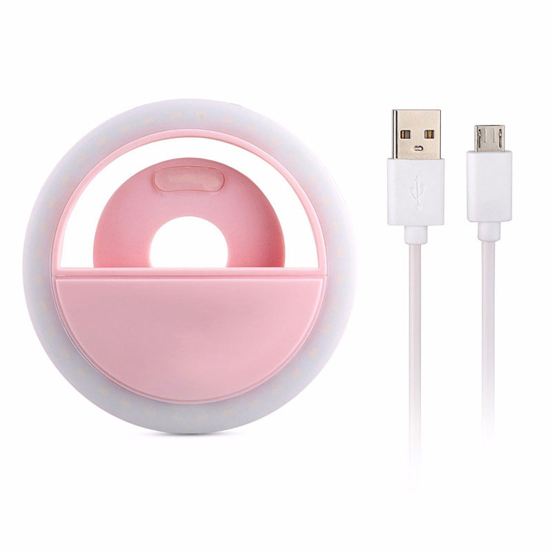 Portable Flash Led Night Light For Smart Phone Creative Right Night LED Light Rechargeable Self Ring LED Lamp