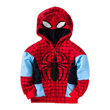 Boys clothes children clothing 2019 spring and autumn new kids clothes fashion cartoon long-sleeved hooded jacket long sleeved overalls suit male wear spring and autumn workshop factory clothes jacket auto repair clothing sanitation tooling l
