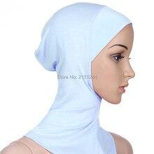 Мусульманский крест шарф Внутренняя Хиджаб шапка исламский головной убор шапка тюрбан головной платок хиджаб для мусульманок