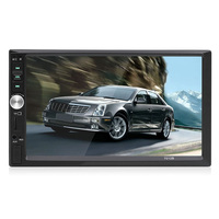 Android WiFi Car Multimedia Player Bluetooth Mirror Link Car MP5 Video AM FM Auto Radio Audio with Remote Control AUX Dual USB