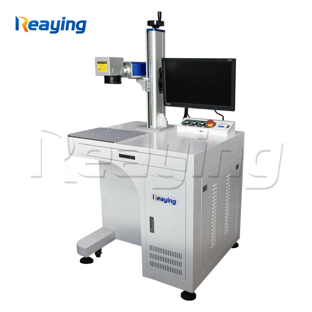 Air cooling high precision mini 20W 30W 50W fiber laser marking machine with large marking area 200*200mm Air cooling high precision mini 20W 30W 50W fiber laser marking machine with large marking area 200*200mm