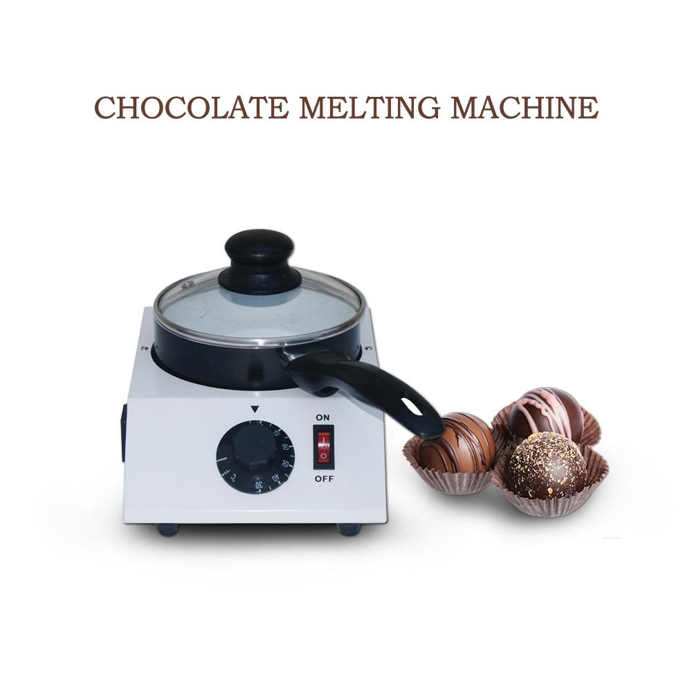 Electric Chocolate Melting Pot,Aluminum Ceramic Non-Stick Pot,DIY Chocolate Cheese Dessert