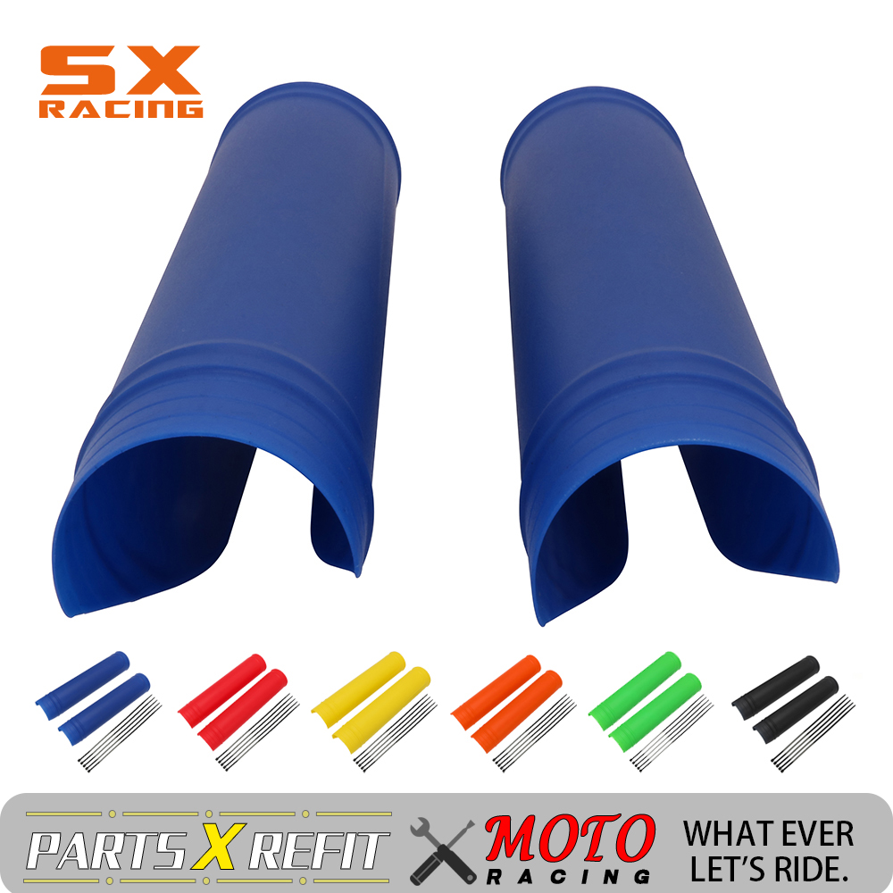 Motorcycle Universal Fork Rubber Cover Shock Absorber Guard Protector For KTM SX EXC XCF XCW XCFW XC 125 150 250 350 450 530
