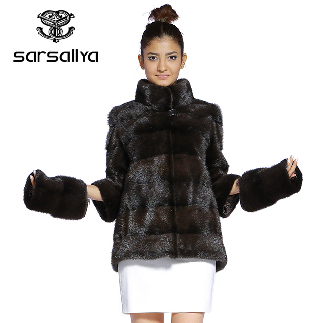 Real Fur Coat Mink Women Winter Natural Fur Mink Coats And Jackets Female Long Warm Vintage Women Clothes 2019 Plus Size 6XL 7XL 55