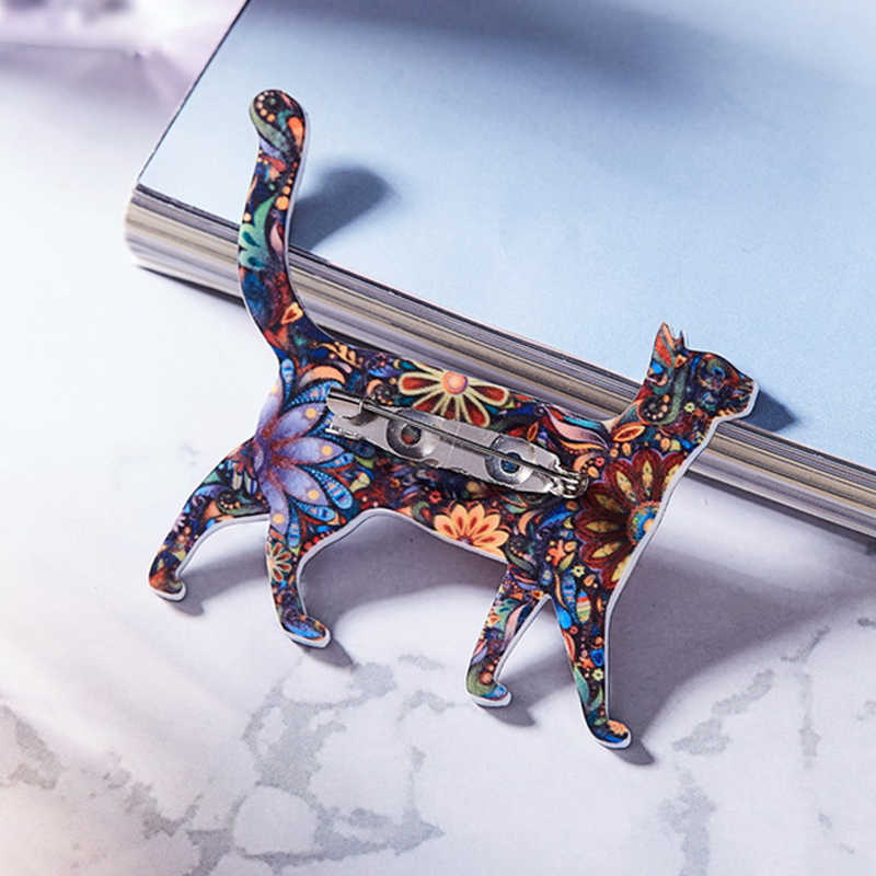 Kerah Kura-kura Anjing Burung Gajah Syal Akrilik Bisnis Suit Hewan Kemeja 1 PC Denim Kuda Kucing Topi Tas Bros Valentine hadiah