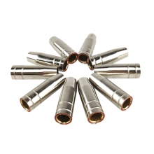 15Ak газовая насадка 10 шт. Mig сварочный фонарь, газовая насадка, контактный наконечник для Mig Mag сварочный аппарат