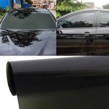 50 см X 152 см VLT15% IR уменьшение UV400 уход за кожей нано Керамическая Солнечная Оконная Тонирующая пленка