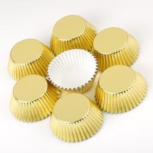 100 pçs mini cupcake forros bolo de papel cozimento copo muffin casos natal wending ferramentas