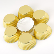 100 قطعة بطانات كب كيك صغيرة ورقة كعكة فناجين الخبز الكعك حالات أدوات عيد الميلاد