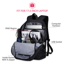 USB Charging Laptop Backpack 17 inch for Men Camo Black Fashion Masccline Bags Travel Backbags large Capacity Bag