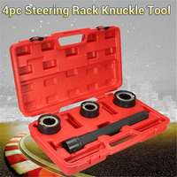 4pc Steering Rack Knuckle Tool Rod End Tie Track Axial Ball Joint Removal Set 30 35mm/35 40mm/40 45mm