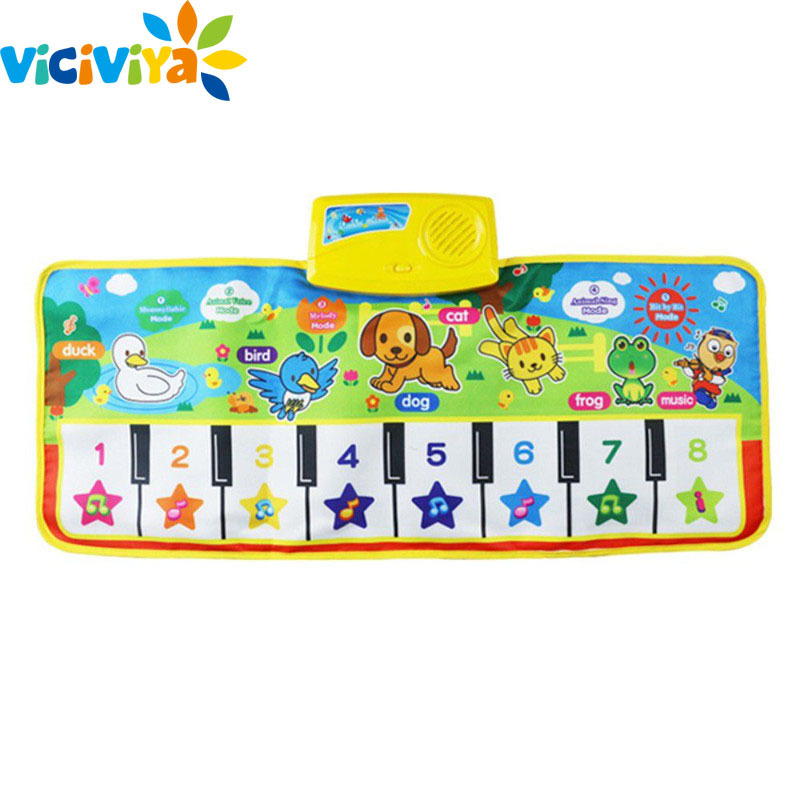Baby Music Carpet Baby Musical Mat Children Educational Carpets Babe Infant Piano Music Play Mats Games Playmat For Kids