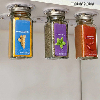 Magnetic Storage Holder for Canned Food  1