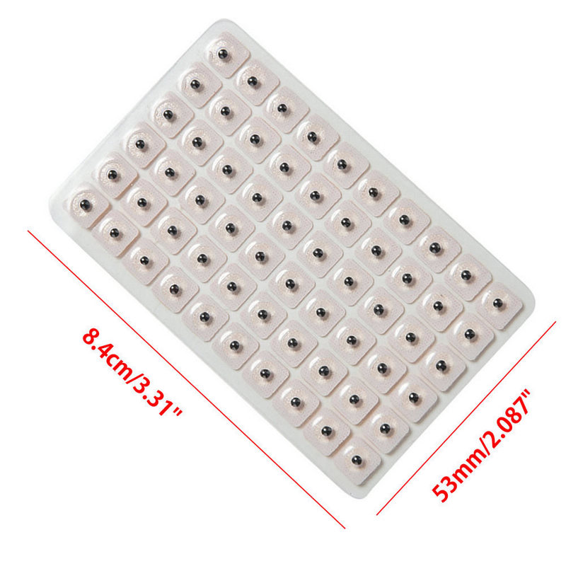 Image 5 - 600pcs Disposable Ear Acupuncture Massage Therapy Needle Patch Auricular Auriculotherapy Vaccaria Ear Care Seeds Sticker-in Massage & Relaxation from Beauty & Health