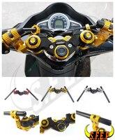 CNC Aluminum Motorcycle Adaptable Steering Handlebar Grip For Honda GROM MSX125 MSX125SF