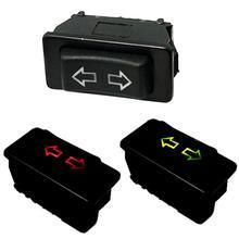 Профессиональный 1 шт./упаковка 5Pin 12 до 24 В черный автомобильный переключатель стеклоподъемника с лампой пластиковые электронные компоненты универсальные для автомобилей