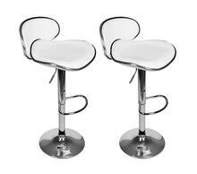 vidaXL Fashion Bar Chair Lift Bar Stool European Modern Minimalist Shop Stool Chair High Chair Backrest