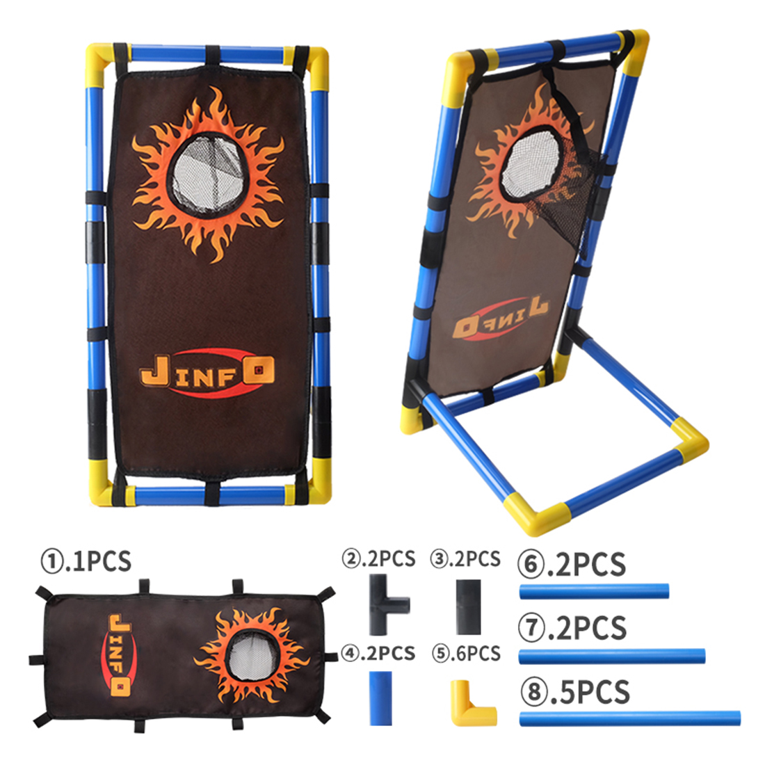 Image 3 - 2019 Hot Sale Stand Scoring Target with Frame Rack Outdoor Tactical Shooting Training Aim for Nerf Soft Dart Paintball Airsoft-in Paintball Accessories from Sports & Entertainment