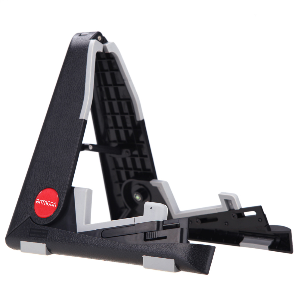 Foldable Ukulele Stand A-frame Guitar Stand Bracket Mount for Ukelele Violin Mandolin Easy Universal Compact Space-saving image