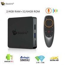 Beelink GT1 MINI Smart TV Box Android 8.1 Amlogic S905X2 Voi