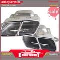 2 unids/set tubos de escape cola silenciador consejos W251 R280 R300 R320 R350 R400 R500 R63 A2214901527 para Mercedes Benz|Perchas  abrazaderas y bridas| |  -