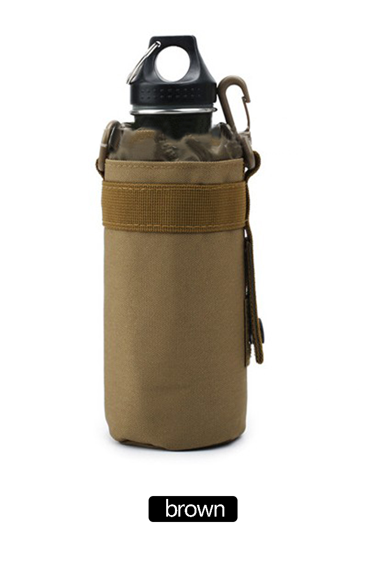 Tactical Military Molle Kettle Bag Nylon Material 3 Color Optional Easy To Load Large Bag Practical Personality Kettle Bag