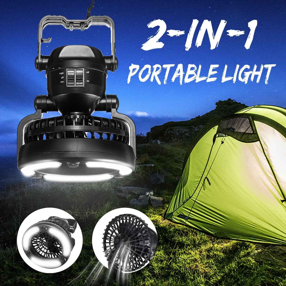 2 Mode 18 LED Tent Light 2 In 1 Camping Ceiling Fan Light Hanging Tent Lamp Lantern Outdoor Tent Light Fan2 Mode 18 LED Tent Light 2 In 1 Camping Ceiling Fan Light Hanging Tent Lamp Lantern Outdoor Tent Light Fan