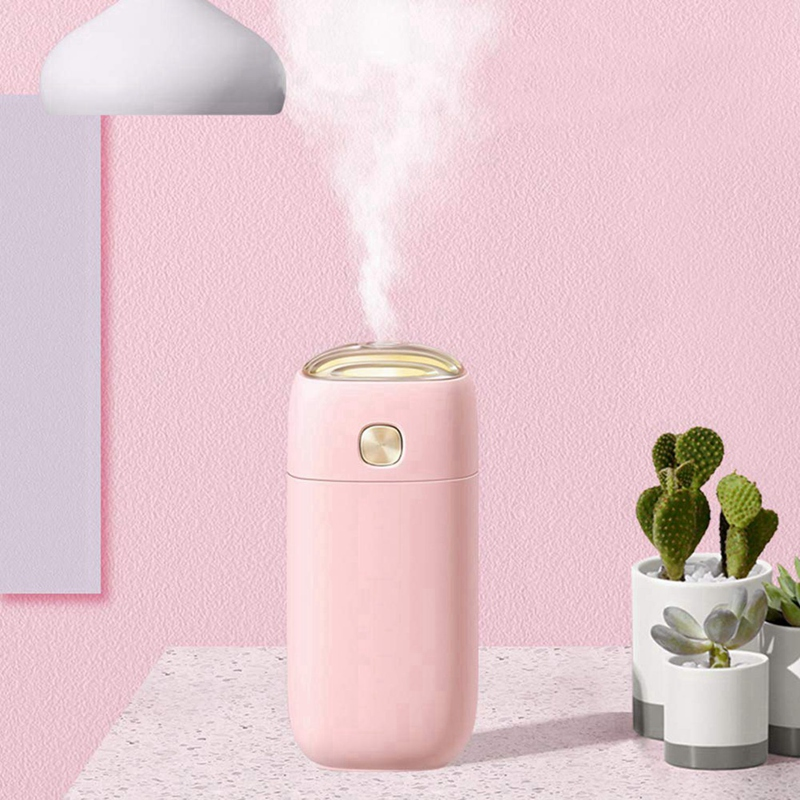 Mini Portable Air Humidifier Desktop Car Noise-free USB Essential Oil Diffuser With Night Light Timed power off Mist Maker GiftMini Portable Air Humidifier Desktop Car Noise-free USB Essential Oil Diffuser With Night Light Timed power off Mist Maker Gift
