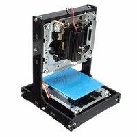New Arrival 500mW USB Black DIY Home Laser Printer Engraver Laser Engraving Cutting Tool Logo Marking Hine With 1GB SD Card Set