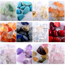 nail accessories ornament Irregular stone  colored Crystal agate art stones decoration for nails