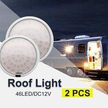 Светодиодный потолочный светильник для салона 2x46