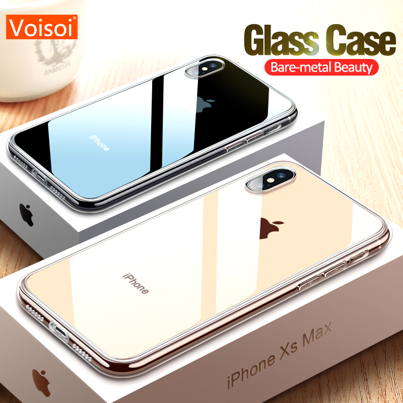 Case For iPhone XR X Xs Max Anti- knock Dirt-resistant For iPhone Xs Max XR X Cases coque Tempered glass Ultra Thin iphone xr case magnetic