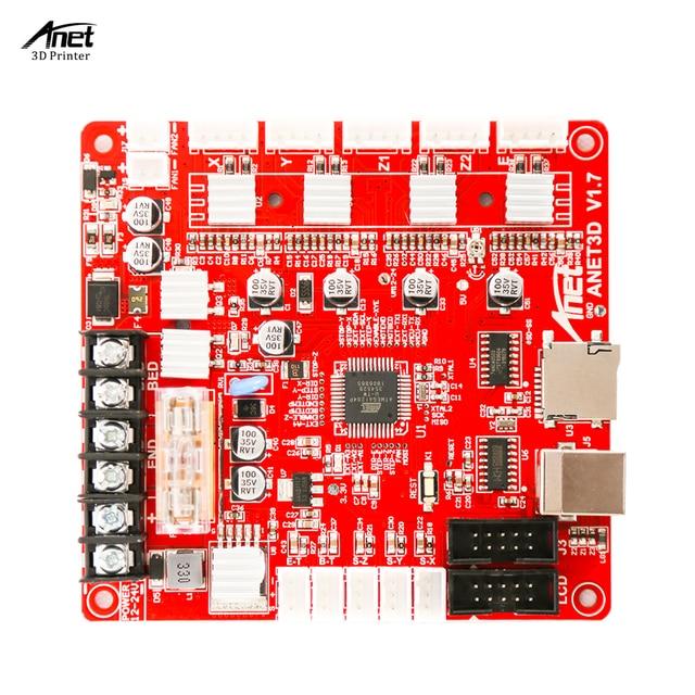 Anet A1284 Base V1.7 Control Board Moederbord Moederbord voor Anet A8 DIY Zelfassemblage 3D Desktop Printer Kit