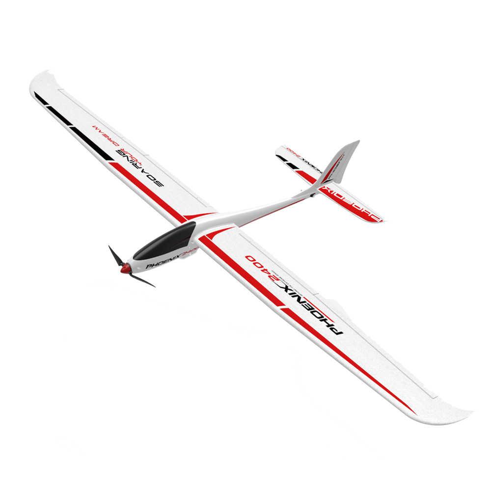 Kualitas Tinggi Volantex 759-3 2400 2400 Mm Lebar Sayap EPO RC Glidering Pesawat Kit/PNP untuk Anak-anak Hadiah