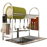 Storage Almacenamiento Cozinha Organizadores De Kuchnia Cosinha Stainless Steel Cocina Organizador Cuisine Mutfak Kitchen Rack