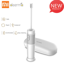 New XIAOMI Deerma-JB01 Milk Drink Coffee Whisk Mixer Electric Egg Beater Frother Foamer Stirrer Practical Kitchen Cooking Tool все цены