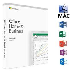 Microsoft Office для дома и бизнеса 2019 код товара 1 лицензия пользователя Розничная торговля в штучной упаковке Совместимость с окна Mac