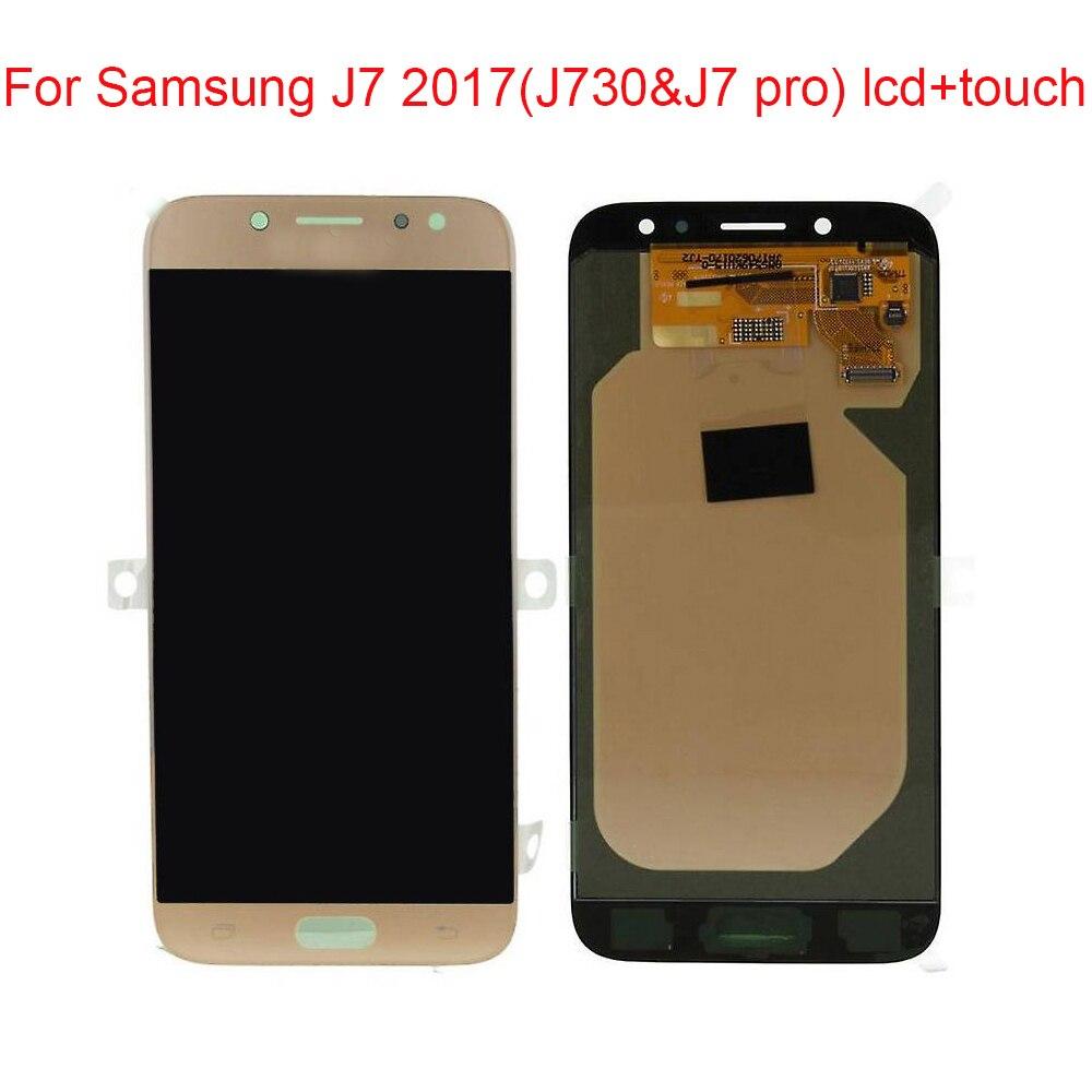 JPFIX OLED Display For Samsung Galaxy J7 Pro J7 2017 J730 SM J730F LCD Display Touch