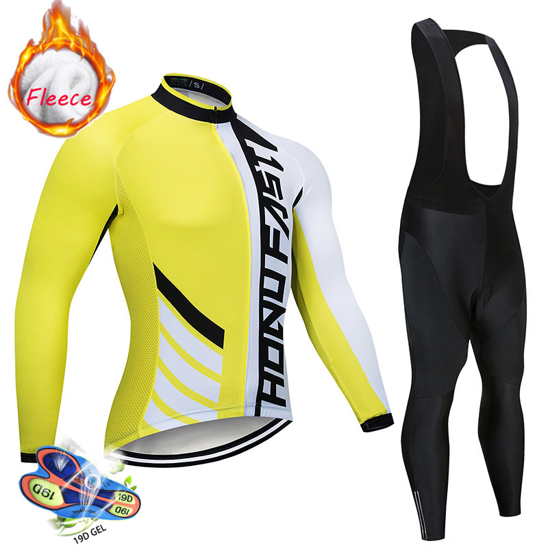 Detail Feedback Questions about Pro Team Winter Cycling Jersey Set Thermal  Fleece Ropa Ciclismo Invierno MTB Bicycle Clothing SPECIALIZEDING Bike Wear  ... ae70a1ed5