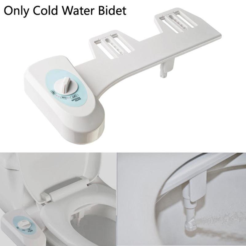 Autolimpieza Boquilla Individual Rociador de Agua Fresca Caliente y Fr/ía Bid/é No El/éctrico para Asiento de Inodoro Ba/ño