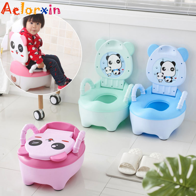 Cartoon Animals Baby Children's Pots Kids Potty Training Children's Potty Seat Urinal For Nursery Pad On The Children's Toile