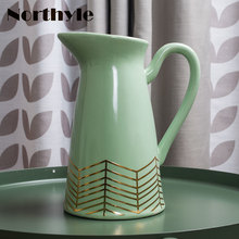 Europe  style ceramic flower vase wedding decoration porcelain floor home bottle