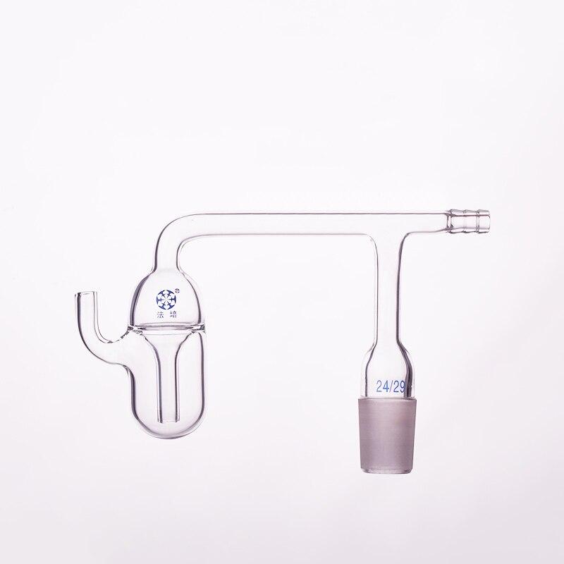 Gas bubbler,Joint 24/29,Oil bubble vent,Bubbler, Horizontal w/ Standard Taper jointGas bubbler,Joint 24/29,Oil bubble vent,Bubbler, Horizontal w/ Standard Taper joint
