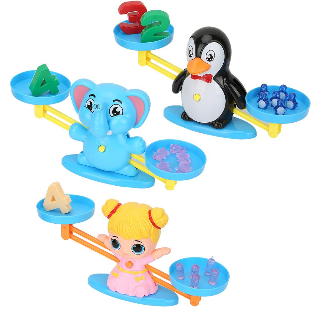 Shape Tools Match Balancing Scale Board game Children Number Add Subtraction Game Kids Educational Toy Popular Toys