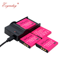 USB Charger + 4 Pack Rechargeable Battery for PENTAX D Li68 Battery for Opito Q7 Q10 V10 S10 S12 A36 A40 Cameras