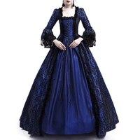 18th Century Medieval Gothic dress Renaissance LACE Dress Masquerade Costume Ball Gown vestido gotico