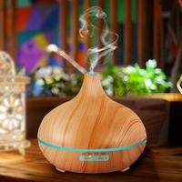 350ml Air Humidifier Essential Oil Diffuser Aroma Lamp Aromatherapy Electric Aroma Diffuser Mist Maker For Home Wood For Home